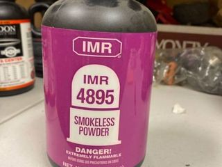 IMR  4895 Smokeless powder 1 pound factory sealed