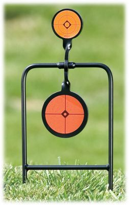 Caldwell Double Spin Center Fire Handgun Swinging Target
