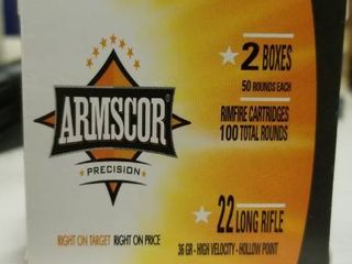 Armscor 36g HP  22 lR 100 round box