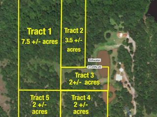 SECLUDED WOODED  ACREAGES AUCTION-STILLWATER OK AREA