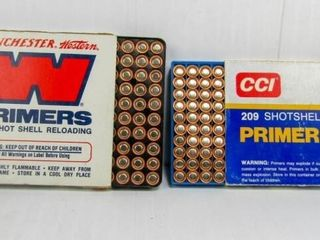 2 Boxes 209 Shot Shell Primers
