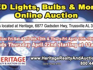 LED Lighting, Bulbs & More! ends 04/22