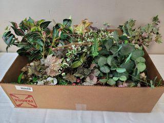 Box of Fancy Greenery