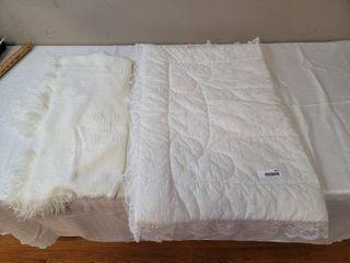2 Crib Blankets