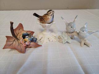 Porcelain Bird Figurines