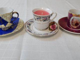 Mini Teacups and Saucers