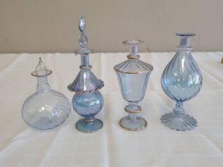 Small Blue Glass Bottles