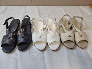 3 Pair Size 10 SAS Shoes