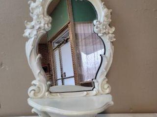 Wall Mirror w  Shelf