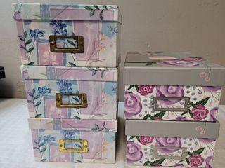 5 Photo Storage Boxes