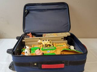 Child s Suitcase w  Contents