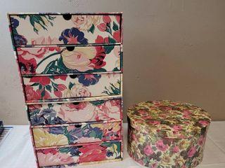 2 Cardboard Storage Units