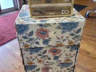 2 Storage Drawer Units w  Contents