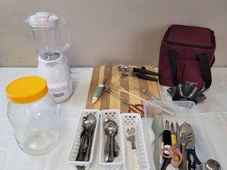Kitchen Utensils  Blender and Cooler
