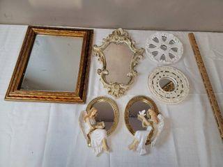 Decorative Mirrors  1 has small crack