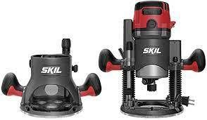 Skil 14 AMP Plunge  amp  Fixed Base Router Combo SEE DESCRIPTION