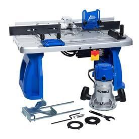 Kobalt Fixed Corded Router w  Table Included