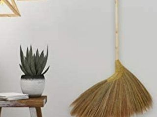Natural Grass Broom from Asia