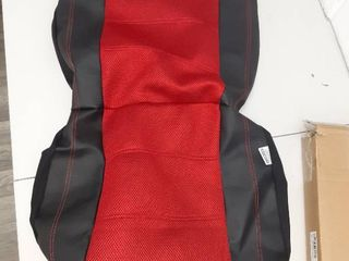 Black   Red Seat Cover