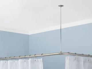 Corner Curtain Shower Rod