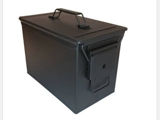 Black Ammo Can