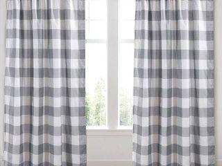 levtex Camden Window Curtain  Grey
