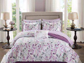 Purple Rowan Complete Comforter Set  King