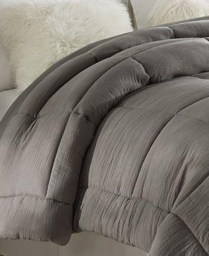 Tahari Prewashed All Season Extra Soft Down Alternative Comforter   King