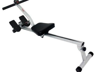 Sunny Health Fitness Adjustable Resistance Rowing Machine w Monitor   SF RW1205