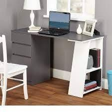 Simple living Como Modern Writing Desk  Retail 168 99 grey and white