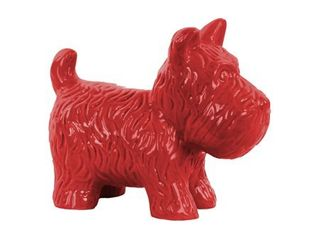 Urban Trends Collection  Ceramic Dog Figurine Gloss Finish