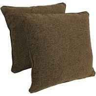 blazing needles brown pillows set of 2