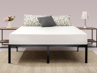 Priage by Zinus Black Steel 14 inch Platform Bed Frame only Retail 113 49 full