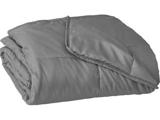 48  x 72  Essentials 12lbs Weighted Blanket Gray   Tranquility