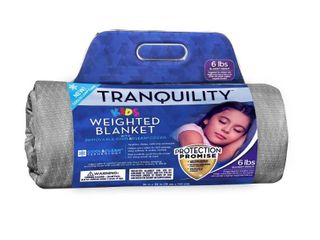 Cooling and Antimicrobial Weighted Blanket Pewter   Tranquility