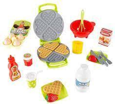 Hey Play Pretend Play Waffle Set
