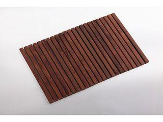 Nordic Style Premium Oiled Teak Wood String Tile 31 4 x19 6