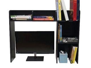 The Classic   Desk Bookshelf   Black