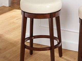 Simple living 24 inch Avenue Swivel Counter Height Stool 1 only  Retail 81 99
