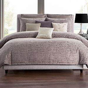 Highline Bedding Co Driftwood Plum 3 PC Comforter Set  Retail 229 99