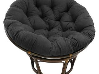 Blazing Needles 44 inch Solid Twill Papasan Cushion only