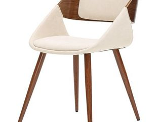 Cyprus Fabric Chair 1 only Santorini dand walnut