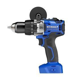 Kobalt 1 2 in 24 Volt Max Volt lithium Ion  li ion  Variable Speed Brushless Cordless Hammer Drill Bare Tool Only  Tool Only  Model  kdd524b 03