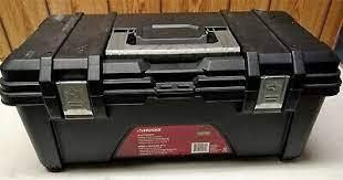 Husky 26  Portable Plastic Tool Box  bh1