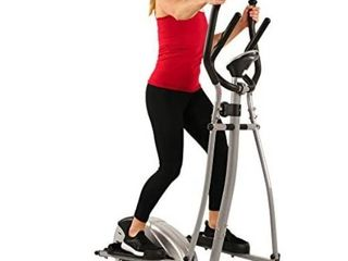 Sunny Health   Fitness SF E905 Elliptical Machine Cross Trainer with 8 level Resistance and Digital Monitor
