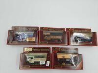 5  Matchbox Models of Yesteryear Y 27 1922 Fonden Steam lorry   NIB Damaged