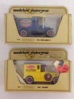 2  Matchbox Models of Yesteryear Y 12 1942 Ford Model T   Y 3 Talbot   NIB Damaged