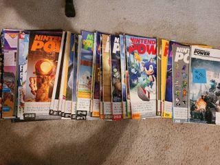 30 Nintendo Power magazines  volumes 221 262