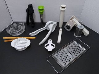 Pampered Chef Grinder Grater and Various Juicers and Graters