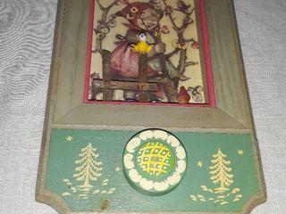 Vintage Hummel Musical Shadow Box
